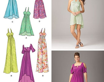 DAY to EVENING DRESS Pattern by Simplicity *Size 20-28