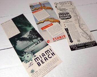 Vintage Florida Travel Ads
