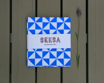 Screen Printed Tea Towel