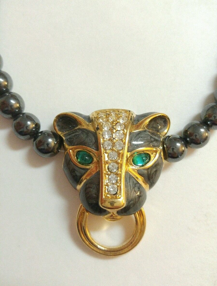 best seller kenneth duchess panther necklace for