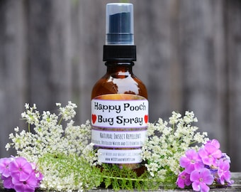 Happy Pooch All Natural Insect Repellent for Dogs