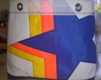 Sail Cloth bag 'Totally Rad '