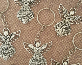 36x Communion Favor Angel Keychain