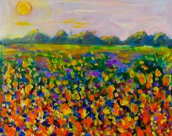 A Field of Flowers # 1