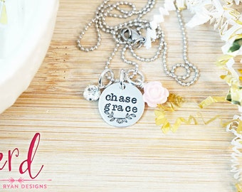 Chase Grace Necklace - Gifts for Her - Christmas Gifts for Her - Religious Gifts - Christian Jewelry - Gifts Under 30 - Christian Gift