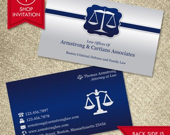 Law Business Card (Free Shipping)