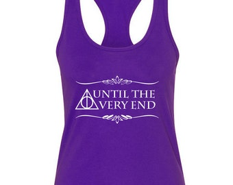 Harry Potter Tank Top - Until the Very End