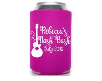 Nashville Bachelorette, Bachelorette Can Coolers, Nash Bash, Nashville Bach Party, Nashville Wedding, Custom Can Coolers