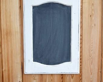 Rustic White Chalkboard