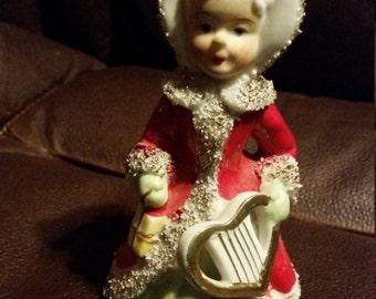 Vintage Christmas Angel Bell