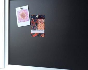 LARGE framed magnetic chalkboard, magnet board, playroom decor, restaurant chalkboard,  home office, place card display,dorm decor
