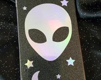 Alien Head Decal