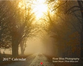 River Bliss 2017 Calendar