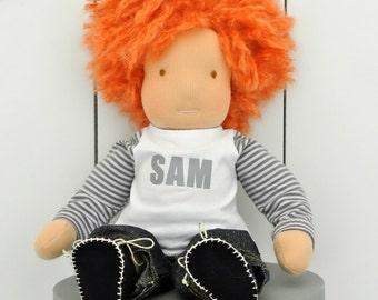 Waldorf Doll Sam (Boy) 12 inch