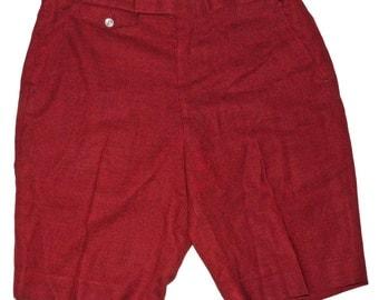 1960s Mens Shorts 36 Waist Vintage Retro Beach