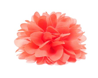Chiffon Mums Dog Collar Flower | Large Flower 26 Colours Collar Attachment