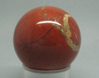 42mm Red Jasper Sphere   South Africa