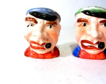 Vintage Old Man Salt & Pepper Shakers