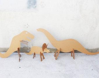 6ft+ Cardboard Dinosaur Set ---Raaaaaawr!!!
