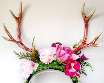 Deer Pink/Purple headpiece