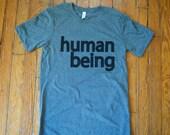 human being SHIRT / human...