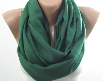 Pashmina Scarf Green Shawl Scarf Infinity Scarf Circle Scarf Spring Women Fashion Accessories St Patricks Day Scarf Gift For Her For Mom