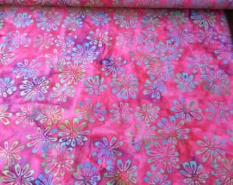 Princess Mirah Batik PM 1030 Carmine Express FV3 patchwork & quilting fabric