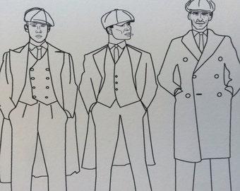 EXPLICIT By Order of the Peaky Blinders Birthday Card - Peaky Blinders