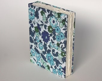 Floral Print Hardcover Unlined Journal