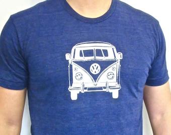 VW van shirt. Volkswagen t-shirt. Vintage print. Vannagon.
