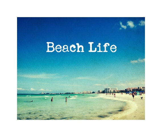 Vintage Quotes About Life Beach Life Beac...
