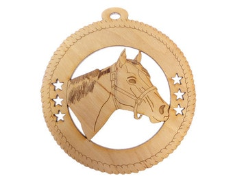 Horse Ornament - Horse Ornaments Personalized - Horse Gifts - Equestrian Gift - Horse Decor - Gift for Horse Lover - Personalized Free