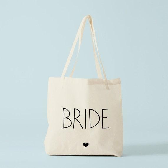tote bag bride coeur sac mariage cadeau future mari e tote. Black Bedroom Furniture Sets. Home Design Ideas