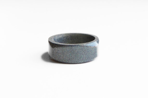 resin ring graphite colorful rings wedding jewelry simple