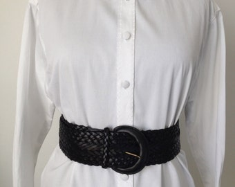Shirt in white cotton, embroidery, size 36/38