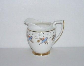 Vintage Royal Doulton Vannes Art Deco Small Creamer