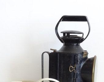 Antique Train Signal Lamp, Railway Signal Lamp, B.R. Railway Lamp