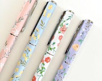 Floral Fountain Pen