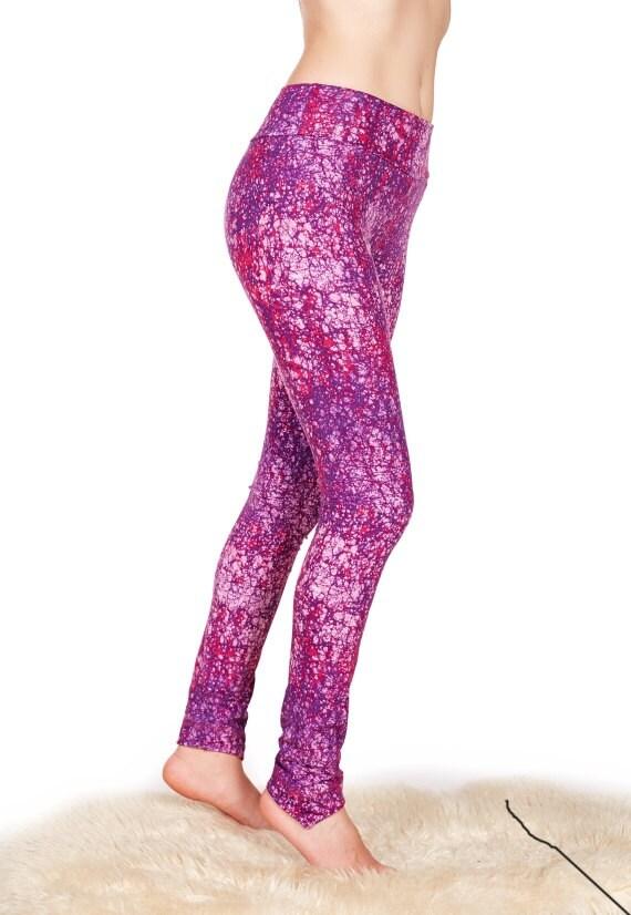 Womens Yoga Pants Long Leggings Sport Leggings Galaxy