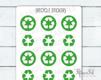 Recycle sticker -B449