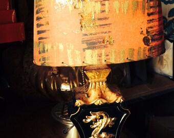 Mid-Century Chinois lamp