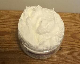 Whipped Body Butter/ Jasmine Grapefruit/ Lauren's Beauteous Body Butters/ Natural Whipped Body Butter/ Skin Loving Butter/ 4 oz Body Butter