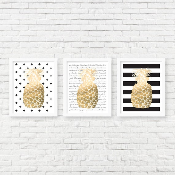 pineapple decor pineapple home decor pineapple printable
