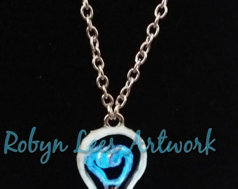 Glow In The Dark Light Bulb Necklace Represents The Flow of Creativity & Ideas