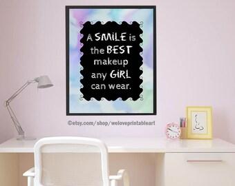 Teen Girl Wall Decor Teen Girl Wall Art  Etsy