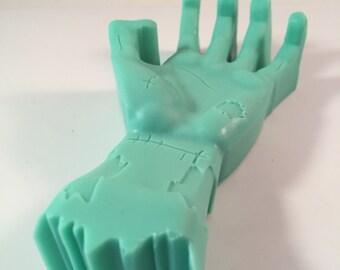 Zombie Hand Soap / Zombie Party Favor / Halloween Soap / Dead Walking Soap / 3.5 oz Soap / Zombie Soap / Goat Milk Soap / Party Favor
