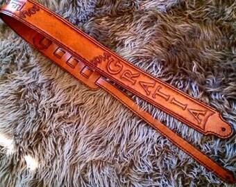 Premium Leather Guitar Strap