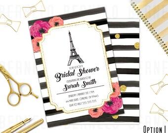 bridal shower invitation, Instant Download, Watercolor Floral Bridal Shower Invitation, Watercolor flowers, Floral Bridal Shower
