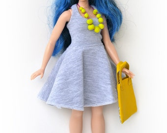 Tank dress for curvy Barbie