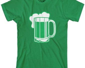 Green Beer for St Patricks Day  Men's T-shirt